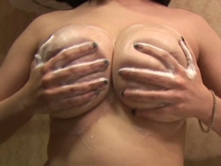 Soapy Boobs